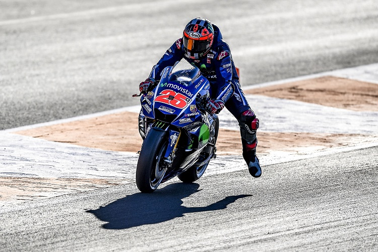 Vinales On Top as 2018 Testing Starts in Valencia - The Checkered Flag efea85849fc