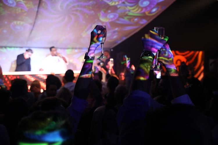 Formula 1 lets it hair down at Amber Lounge after party