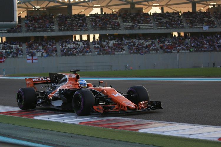 McLaren 'rally car' a real handful for Vandoorne