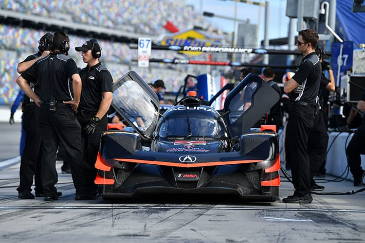 Testing gets underway for the 56th Rolex 24 at Daytona ...