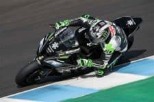 Jonathan Rea at Jerez Test