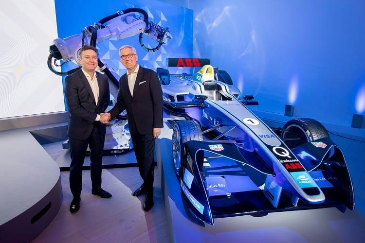 Formula E signs 'historic' title sponsor deal