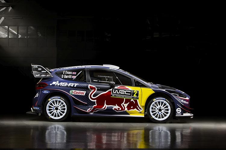 M-Sport unveil 2018 World Rally Championship challenger