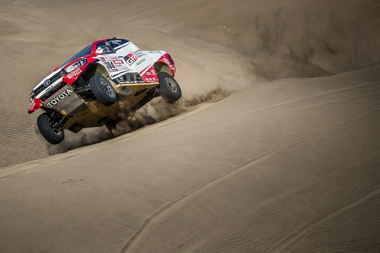 Brutal Dakar Rally 2018 Finally Underway in Peru