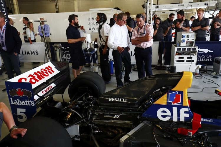 F Champion Mansell To Star At London Classic Car Show The - London classic car show 2018