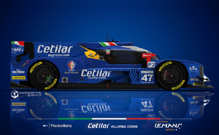 Digital mock up of #47 Le Mans livery