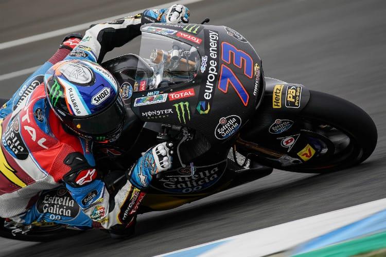 Alex Marquez tops Moto2 Jerez Test