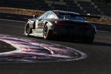 BMW M8 GTE on track