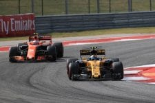 McLaren are encouraged by what they've seen with the Renault power unit so far