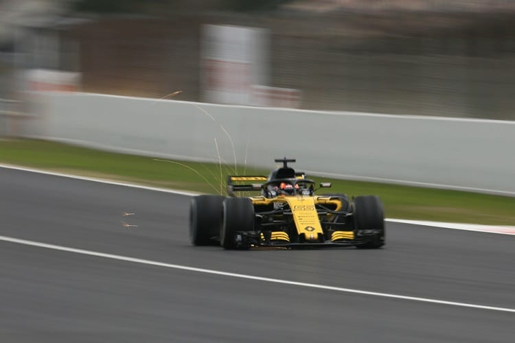 Carlos Sainz Jr. finished fifth fastest on day one