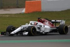 Charles Leclerc completed eighty-one laps on Tuesday