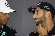 Daniel Ricciardo wants to be team-mates to Lewis Hamilton at some point in his career