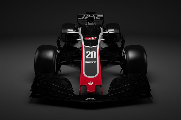 Haas VF-18 - first 2018 Formula One racer unveiled