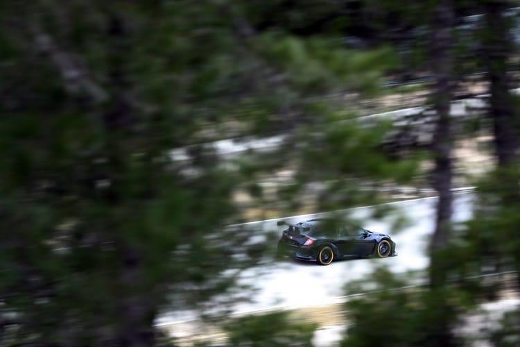 New Dynamics Honda Civic Type R for 2018 BTCC makes test debut