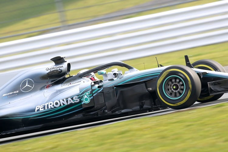 Mercedes will join the first pre-season test in Spain on Monday around a resurfaced Circuit de Barcelona-Catalunya