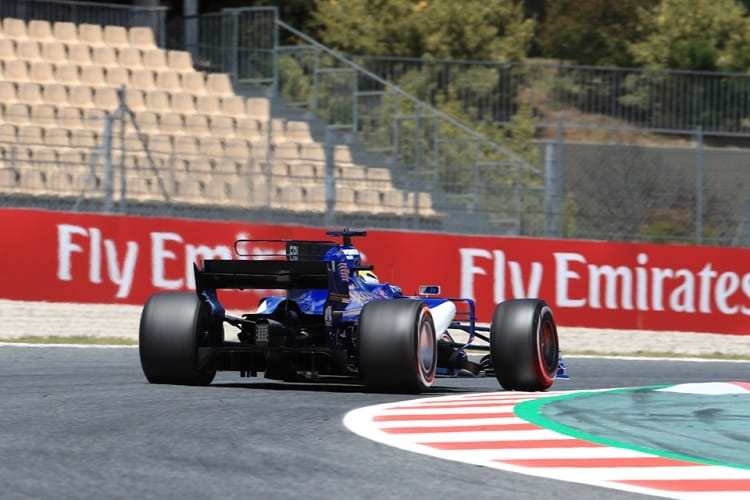 Sauber's aero-package was not good enough in 2017, according to Frederic Vasseur