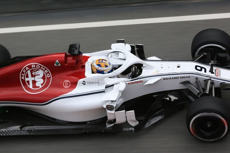 Jorg Zander had only positive thoughts to take away from the opening day of testing