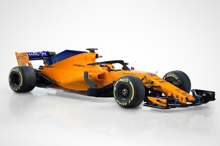 The McLaren MCL33