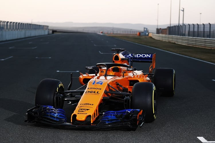 Tim Goss says the MCL33 is an evolution of the MCL32