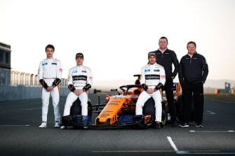 McLaren F1-Team - 2018