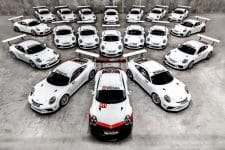 Second Generation Porsche 911 GT3 Cup cars arrive in Australia
