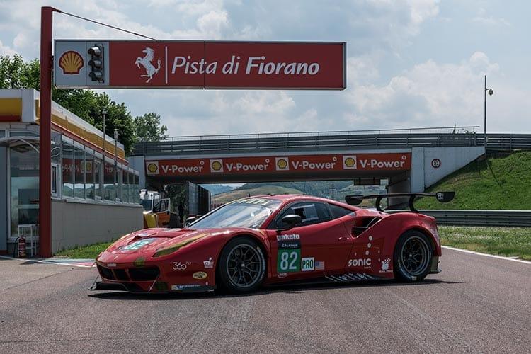 Risi Competizione Ferrar 488 GTE