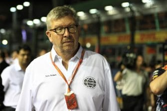 Ross Brawn would like to see DRS be removed from Formula 1