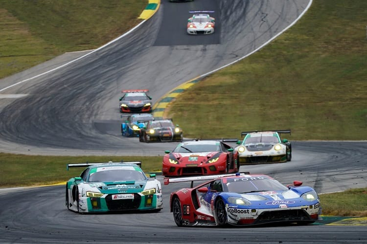 Drivers will not be able to race at both Petit Le Mans and Fuji in 2018 due to a scheduling clash