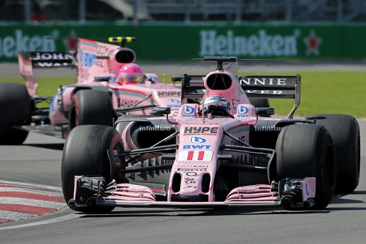Wolff Admits Annoyance of 2017 on-track Ocon/Perez Clashes