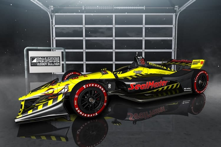 Dale Coyne Racing announce Vasser, Sullivan partnership for #18 car - The Checkered Flag