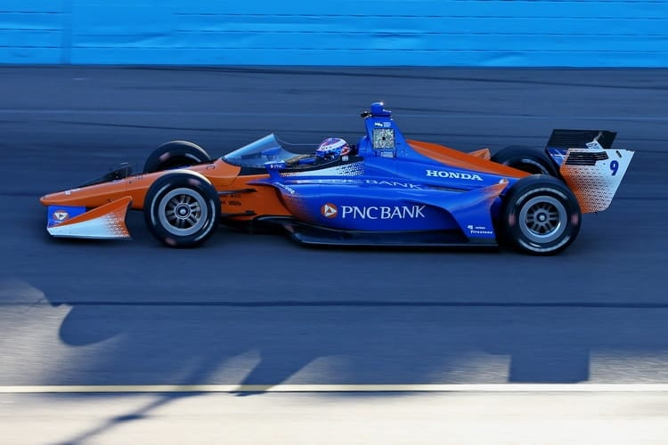 Scott Dixon Completes Successful First Test Of Windscreen Prototype The Checkered Flag