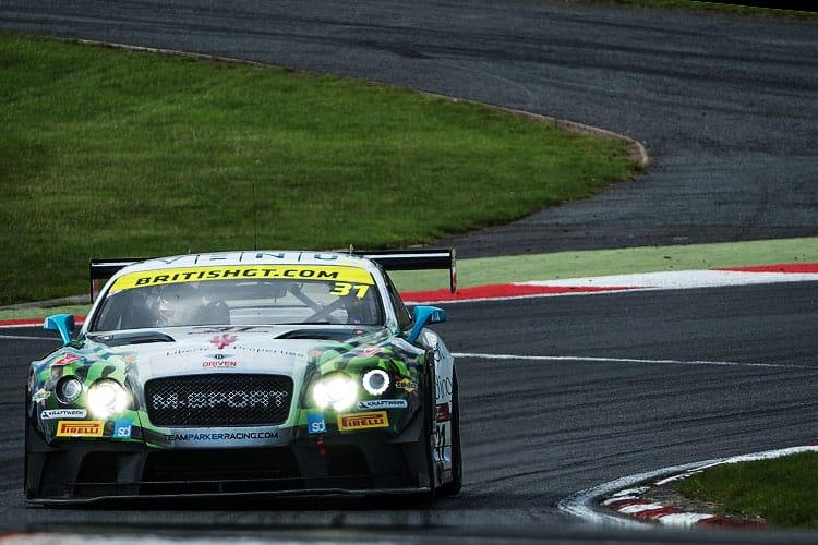 Team Parker Racing Bentley Continental GT3