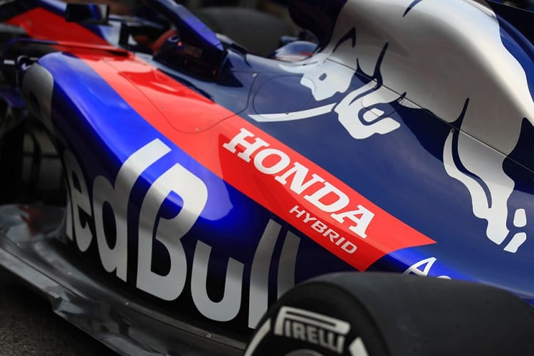 The STR13 is the first Toro Rosso to be powered by Honda