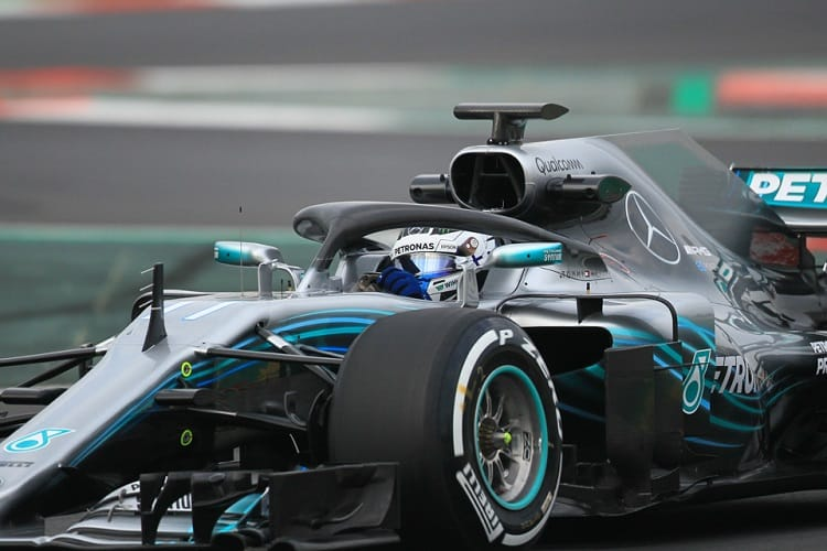 Valtteri Bottas finished second fastest on day one