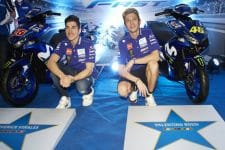 Vinales and Rossi in Philippines