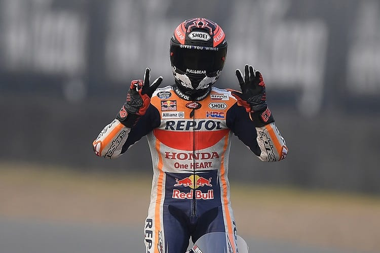 Marquez signs two-year Honda extension