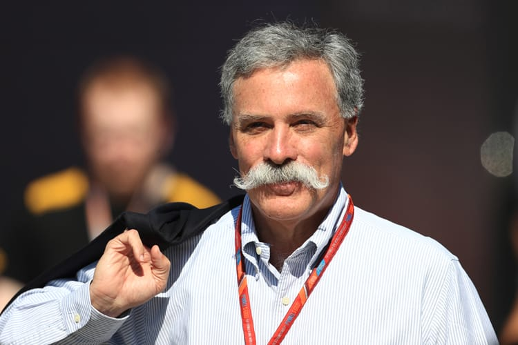Chase Carey and his moustache