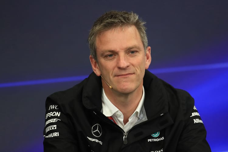 James Allison looks delighted and disappointed in equal measure
