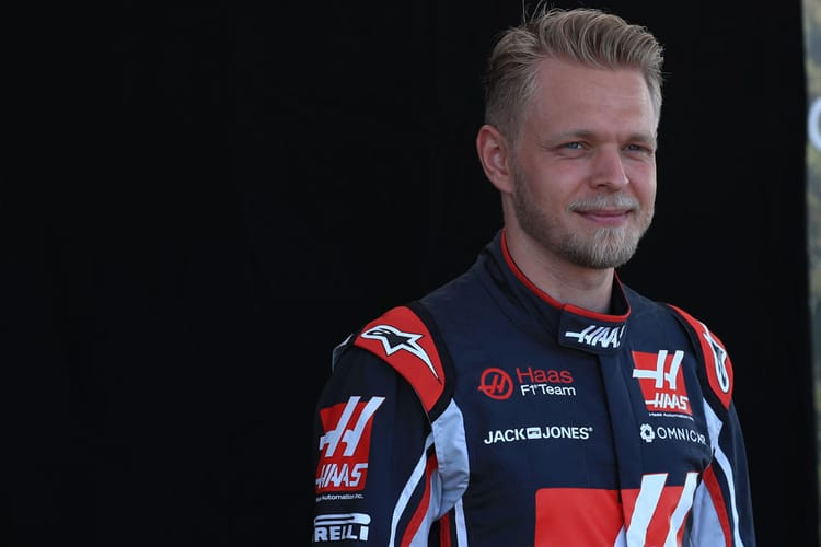 Kevin Magnussen at the 2018 Australian GP