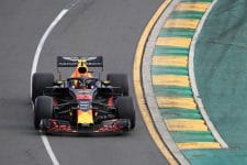 Max Verstappen during Qualifying for 2018 Australian GP