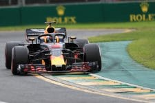 Daniel Ricciardo during qualifying for the 2018 Australian GP