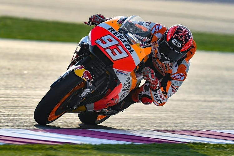 MotoGP 2018: Dovizioso outsmarts Marquez to take first win in Qatar