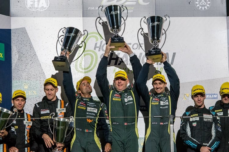 Pedro Lamy. Paul Dalla Lana and Mathias Lauda have been fighting for four years to take the Endurance Trophy for LMGTE Am Drivers, and in 2017 they finally made it happen.