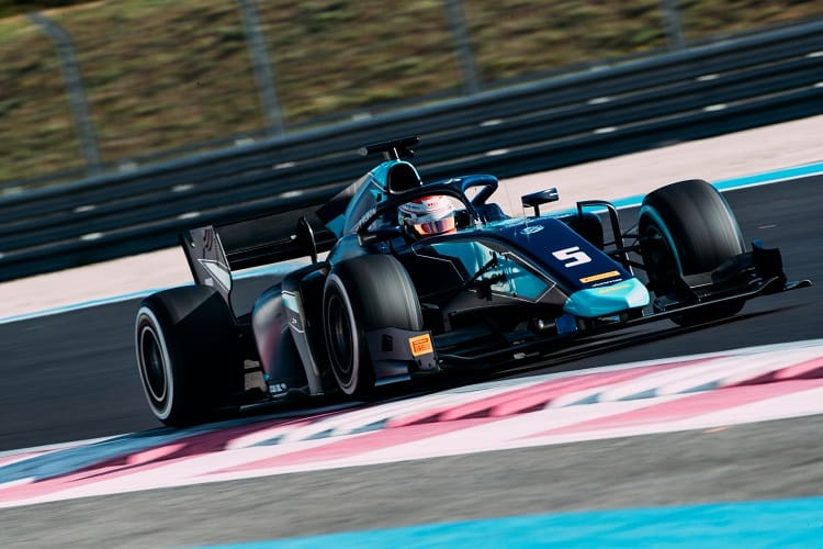 Alexander Albon topped the afternoon session