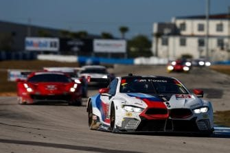 The GT Le Mans class was evenly matched throughout the Twelve Hours of Sebring