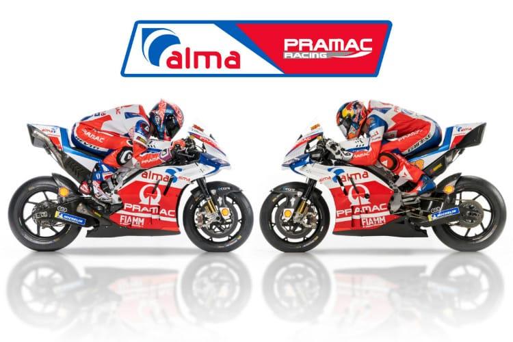 Alma Pramac Ducati Launch