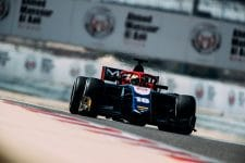 Arjun Maini was fastest on day two in Bahrain