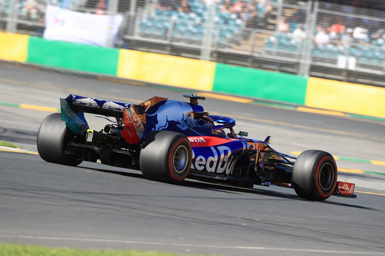 Brendon Hartley is positive about the performance of the Honda power unit