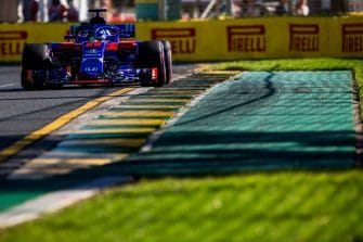 Brendon Hartley will start his first Australian GP from sixteenth on the grid