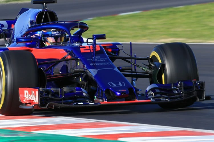 Brendon Hartley was fifth fastest on Wednesday
